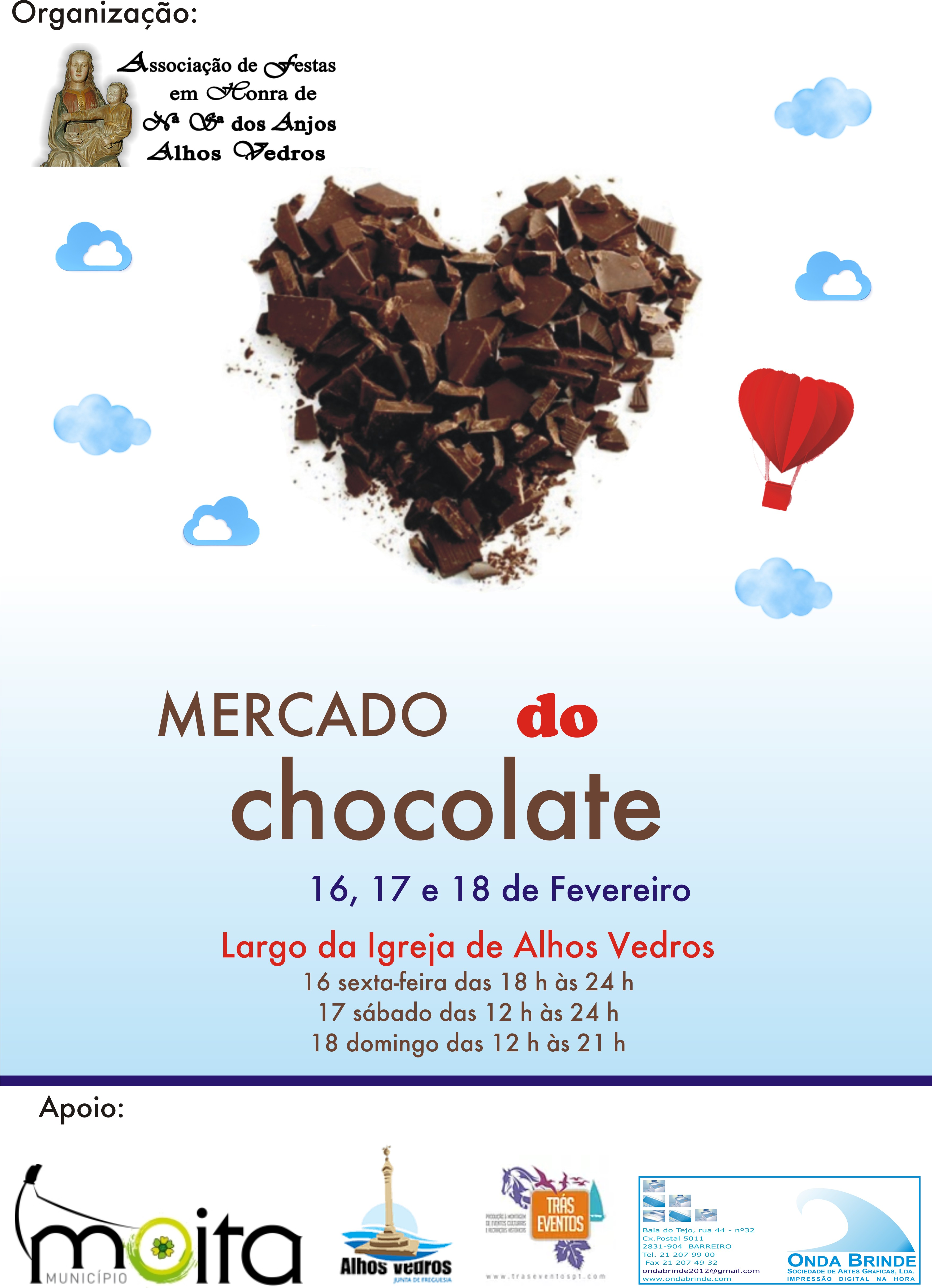Mercado do Chocolate Alhos Vedros